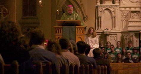 Archbishop visits College Church