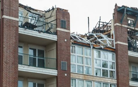 SLU Students Displaced by Lindell Fire – Building declared a total loss
