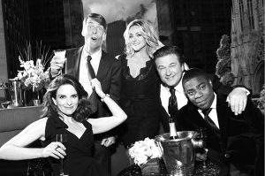 "The cast of ""30 Rock"" poses for a shoot for Rolling Stone's piece on the series' end. ""30 Rock"" ran for seven seasons. Photo courtesy of www.rollingstone.com"