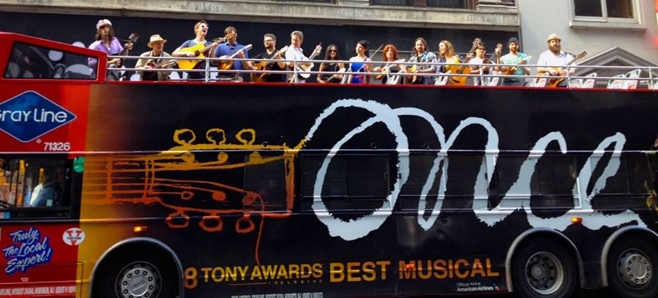"""Image courtesy of """"Once The Musical""""'s Facebook"""