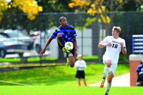 Men's Soccer Finding Their Way
