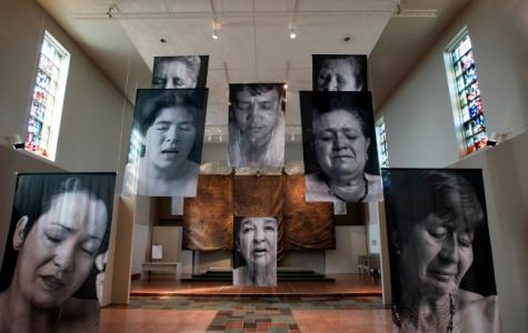 MOCRA exhibit 'Sudarios' puts emotion on display
