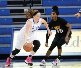 Women rack up two conference wins, rise to second place