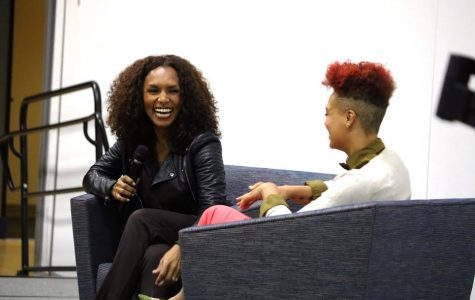 Free to be welcomes activist Janet Mock