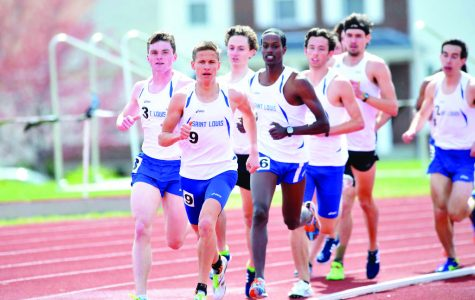 School records shattered in first outdoor track meet