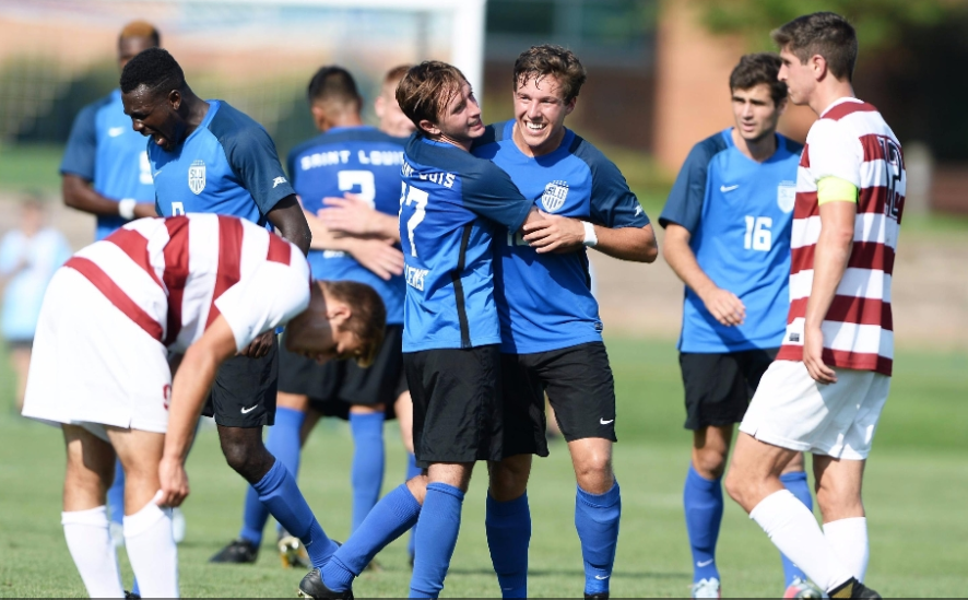 The+Billikens+notched+a+2-0+victory+over+fifth-ranked+Stanford+on+Sat.%2C+Sept.+23+at+Hermann+Stadium.