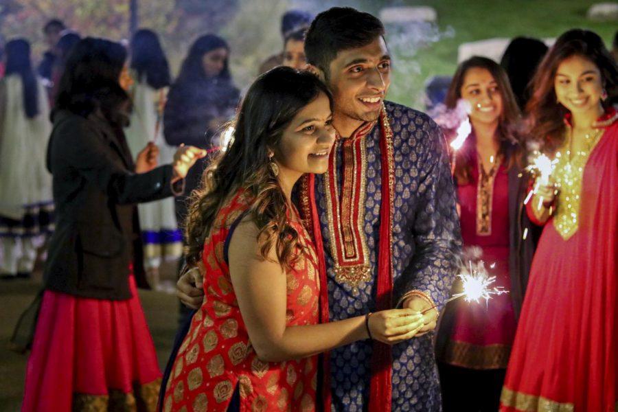 SLU Lights Up In Celebration of Diwali