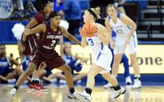 Women win at home, Edge Little Rock