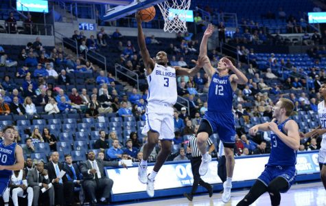 Men fight hard in A-10 opener
