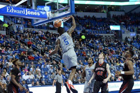Men rally for first A-10 win