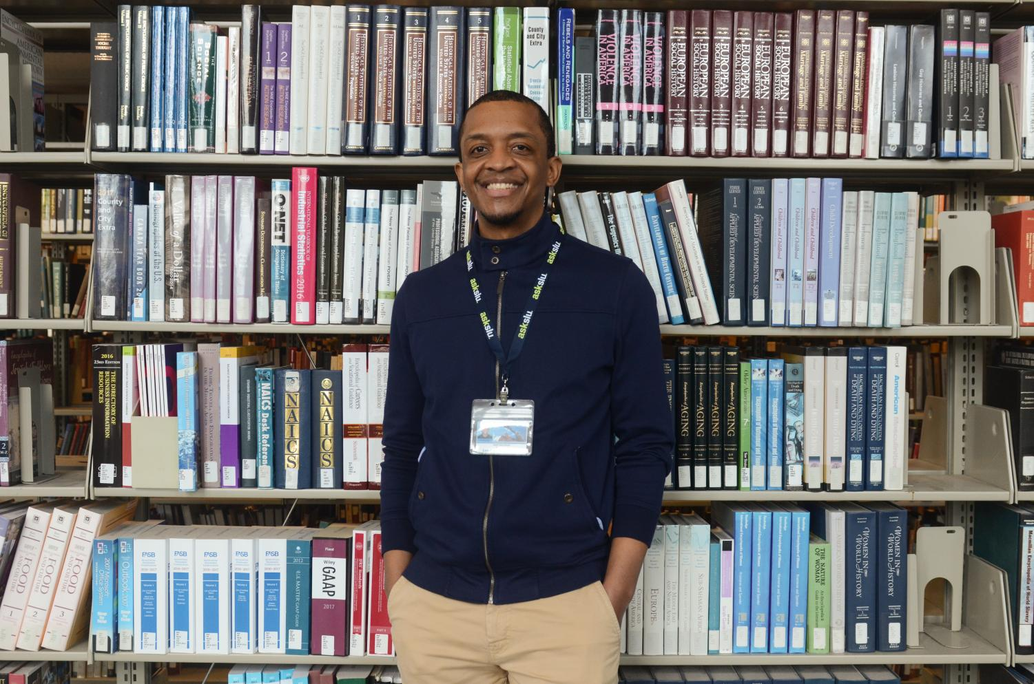 In honor of National Library Worker's Day, today April 10, I asked Lee Cummings, SLU library's STEM Research and Instruction Librarian, to sit down and speak with me about his work at Pius XII Library.