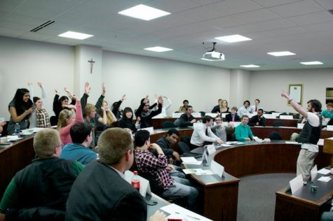 Lack of legislation makes waves in SGA meeting