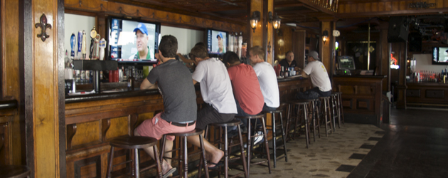 Cheater's Bar and Grill opens this Fall with renovations and a new-look. It replaces Laclede's Bar and Grill, a popular location for students.     Photos by:  Allison Smith / Staff Photographer