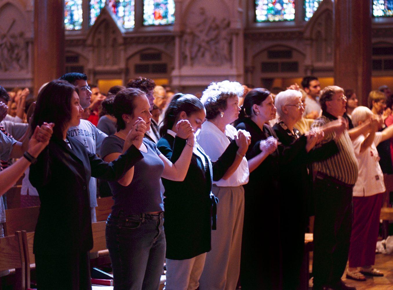 Sept. 13, 2001: SLU joins nation, world in mourning