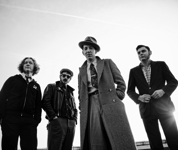 """Courtesy of Paul Nordmann. Pokey LaFarge and the South City Three, in a shot from the cover of their latest album """"The Middle of Everything."""""""