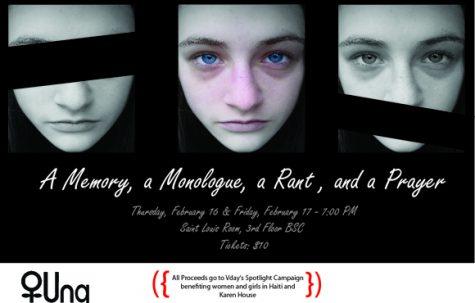 Una shares student memories, monologues