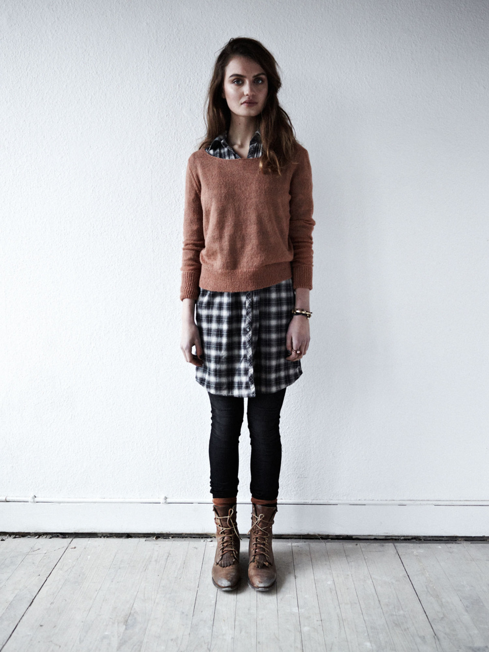4e7ac2434 Layered dress and sweater combination from Annaelsaa.tumblr.com ...