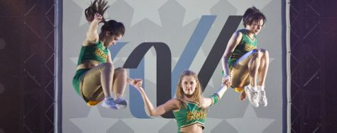 Cheerleaders get a leg up on the competition