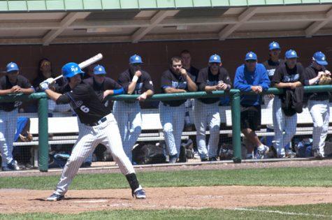 Baseball struggles at home vs. Massachusetts