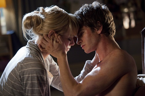 Emma Stone and Andrew Garfield star in Columbia Pictures'