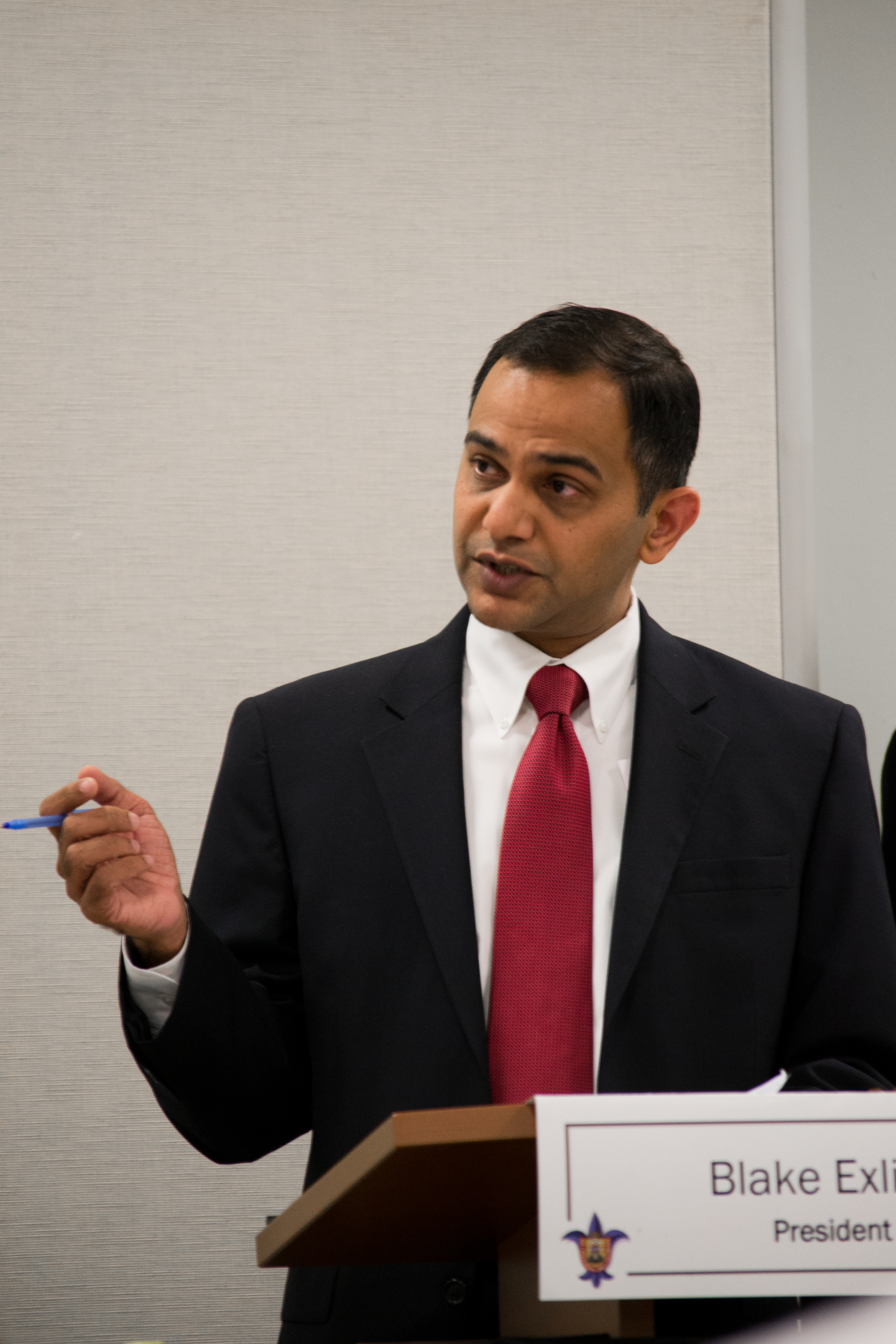 Vice-president of Academic Affairs Manoj Patankar is working to improve communication between the faculty and himself.