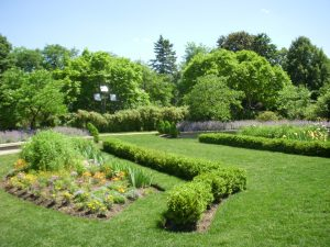Courtesy of  Shabnam MajidiThe garden around the temple in Wilmette, Illinois.