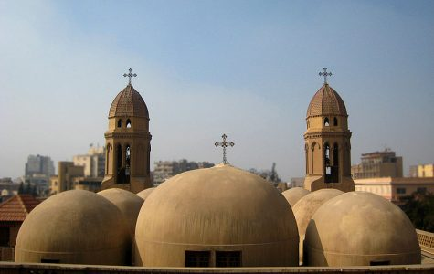 Copts and Muslims clash at famous cathedral in Egypt
