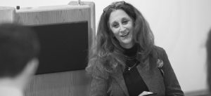 John Schuler / Photo Editor Rabbi Susan Talve spoke with a small audience at SLUMA in the keynote speech for the inaugural Oath Week on April 24.