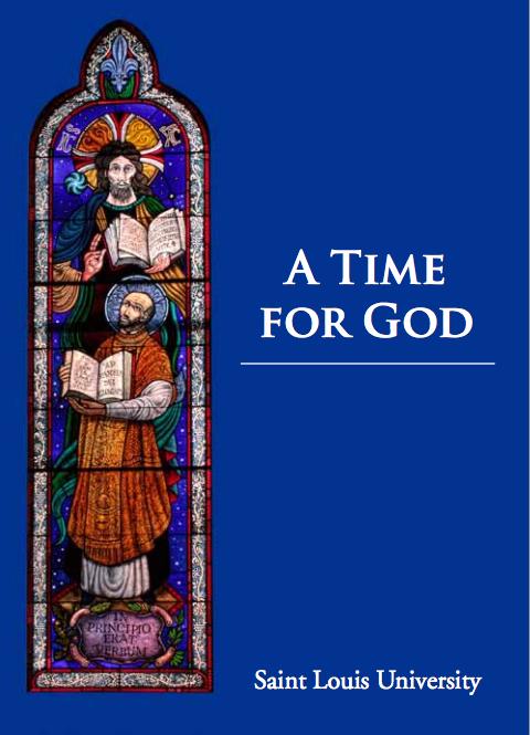 Screenshot of the SAINT LOUIS UNIVERSITY PRAYERBOOK http://www.slu.edu/Documents/student_development/campus_ministry/Prayerbook.pdf