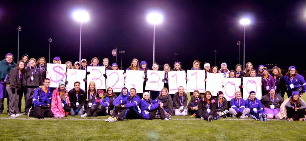 Photo courtesy of SLU Relay For Life Relay: SLU's Relay For Life raised $132,311 in 2013, making it the 4th largest collegiate Relay per capita in the nation.