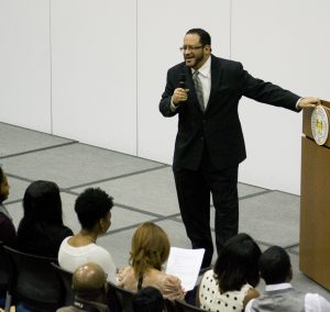 Wolf Howard / News Editor Keynote: Michael Eric Dyson blended pop culture and history in his treatment of the status of Black people in modern America.