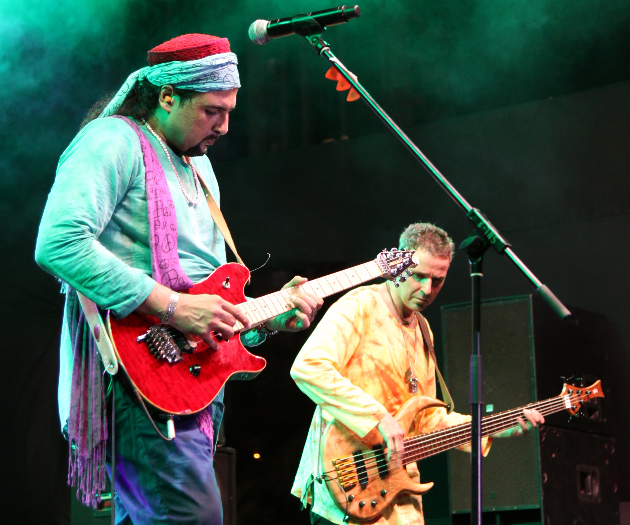 Junoon: Pakistan's most successful rock band  will play next Friday as part of Atlas Week. Photo Courtesy of Atlas Planning Committee