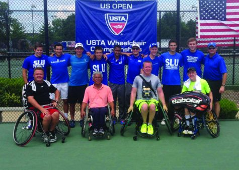Tennis supports wheelchair team
