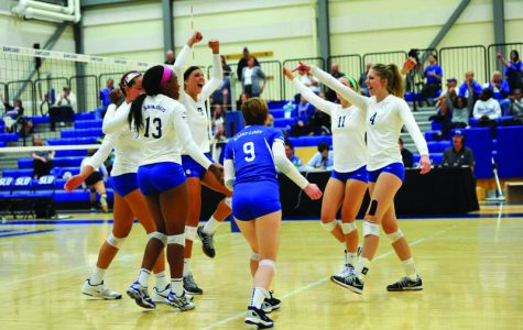 Volleyball beats ranked opponent