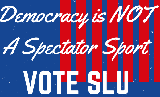 SLU partners with TurboVote to boost voter turnout