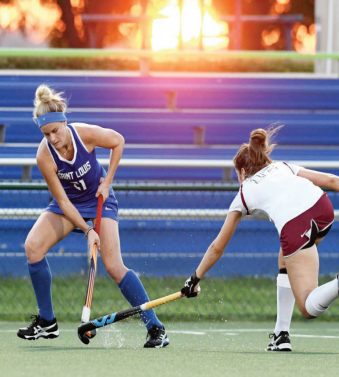 Field hockey fnds second win of season