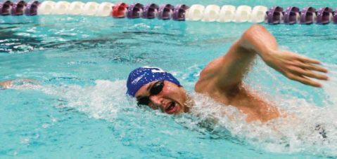 Swimming earns mixed results in A-10 quad meet
