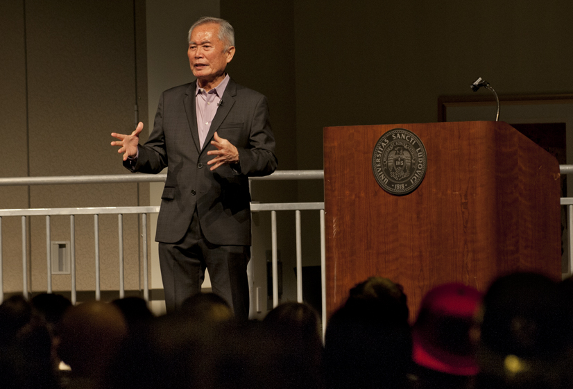 Hysteria Sparks Takei's Activism