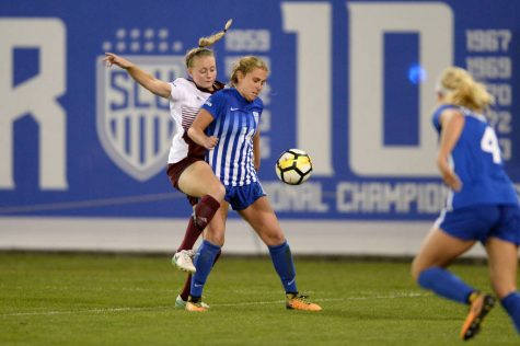 SLU Women's Soccer beats UMass