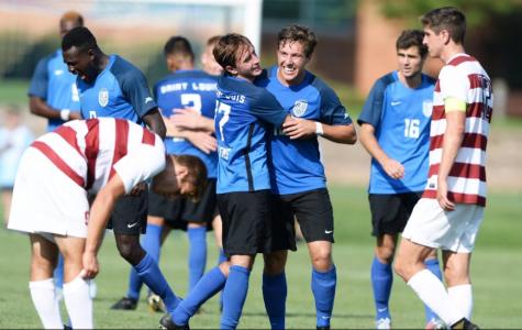 Men's Soccer Upsets Reigning National Champion
