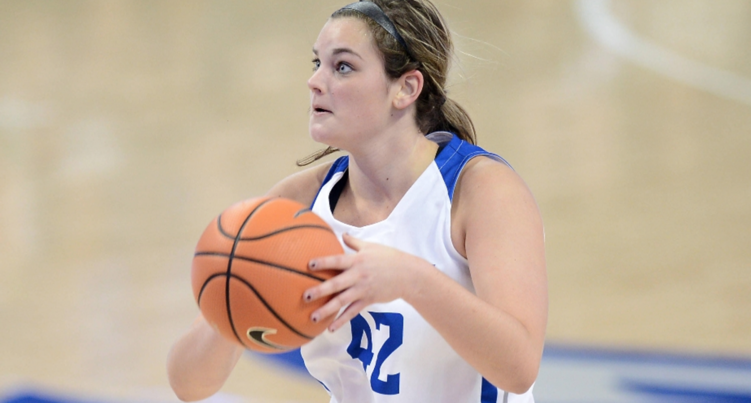 Maddison Gits scored a season-high 17 points and grabbed nine rebounds against Vanderbilt.