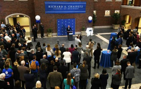 Celebrating a Renaming: The Richard A. Chaifetz School of Business