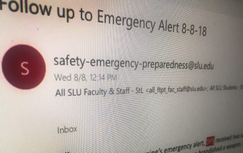 Man with Alleged Firearm Near SLU's Campus, Alert Issued to Students