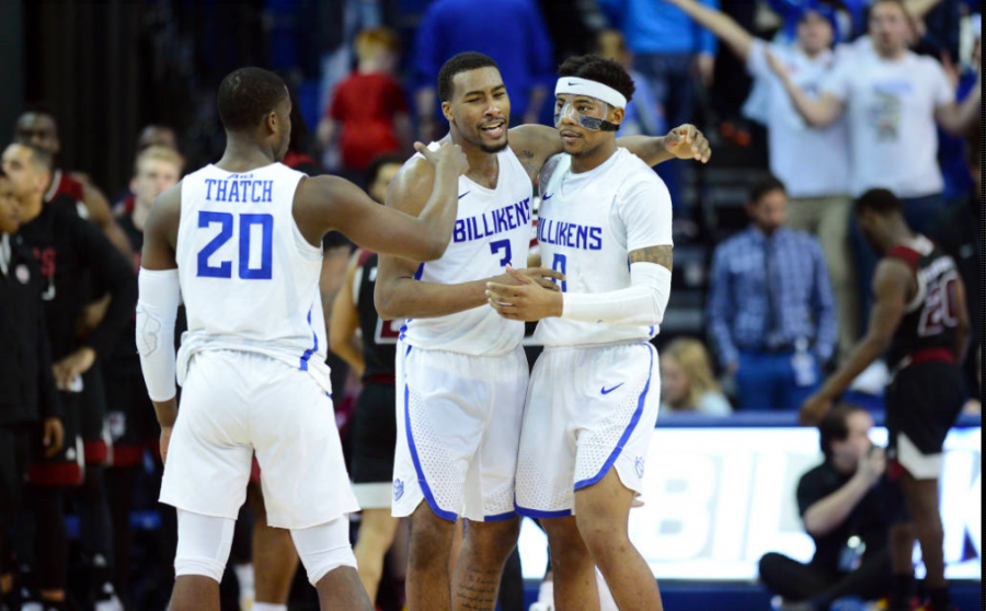 The+Billikens+have+lived+up+to+expectations+early+in+the+season%2C+opening+conference+play+with+a+5-1+record.+Javon+Bess+has+lead+the+charge+averaging+17+points+per+game+and+winning+SLU%27s+first+A10+player+of+the+week+since+2014.