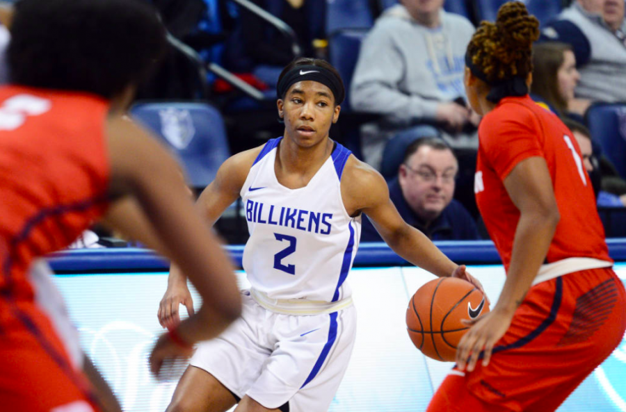 Remarkable rookies shine in the heart of A10 play. Photo taken by Billiken Athletics.