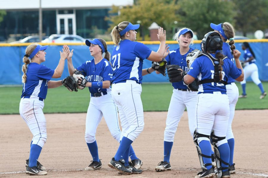 The+SLU+softball+team+opens+their+season+in+Iowa+on+the+campus+of+the+University+of+Northern+Iowa+for+the+Dome+Classic+next+Friday.+The+Bills+will+be+traveling+until+their+home+opener+on+March+14.