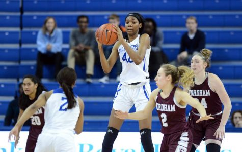 The Women's Basketball Team has won four of their last five conference games to put themselves in the middle of the pack at fifth in the conference. Photo Courtesy of Billiken Athletics.