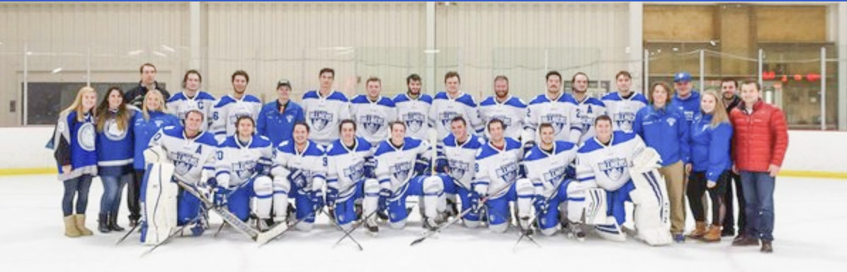 Over two decades after SLU ice hockey was moved from a varsity sport to a club team, they are still going strong and continue to put together successful seasons.  The club gives hockey players the opportunity to still play at a high level while attending SLU. Photo Courtesy of SLU Billikens Ice Hockey.
