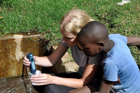 "SLU Students do ""Tangible Good"" in Kenya"