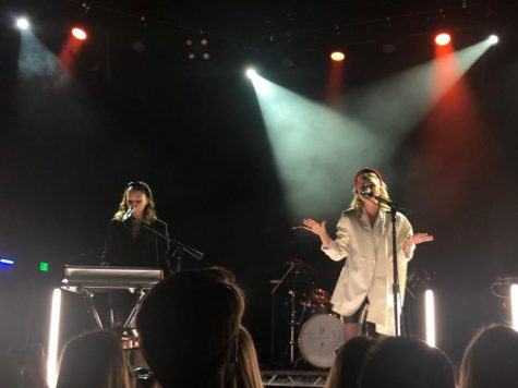 Aly & AJ gave audiences a rush